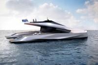 luxe catamaran van peugeot van 35 meter lang